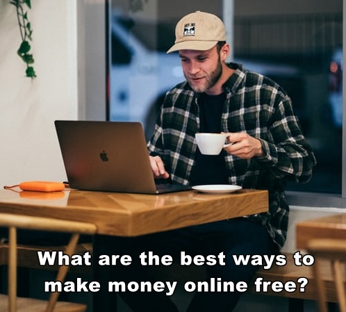 woman learning how to make money online free